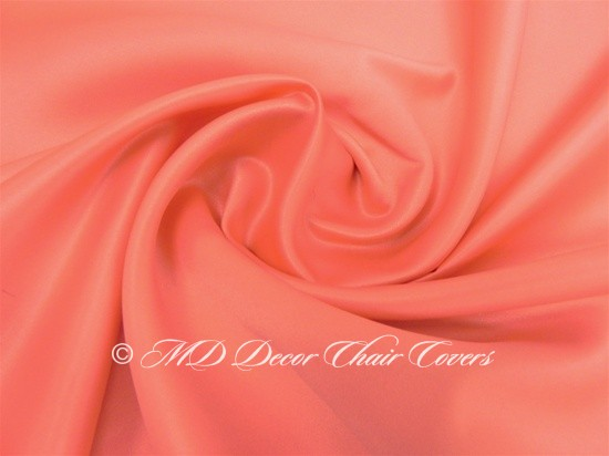 Coral Satin Lamour