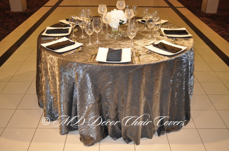 Silver-Crushed-Satin-Tablecloth