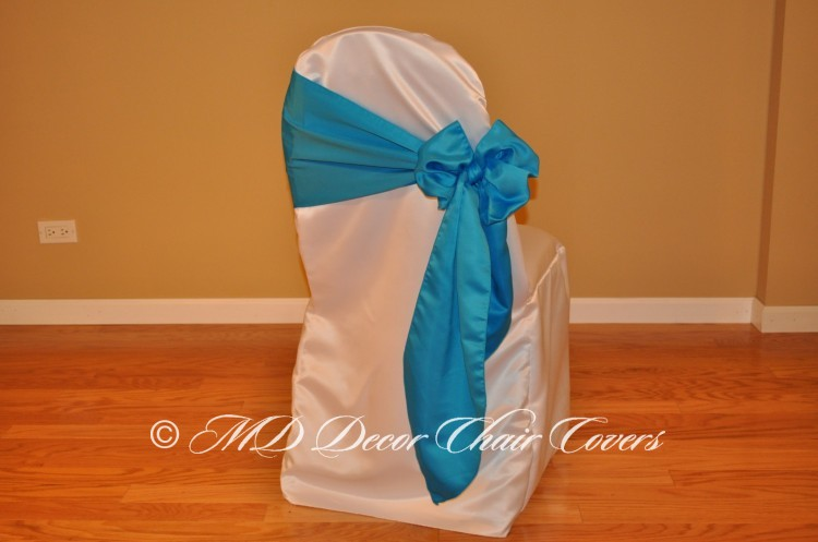 Turquoise Butterfly Bow Style On The Side