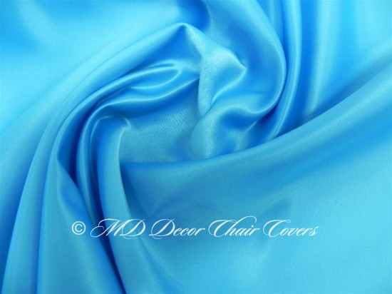 Turquoise Satin Lamour