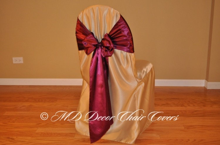 Wine Butterfly Bow Style