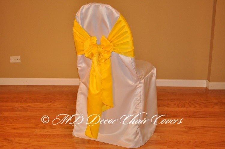 Yellow Butterfly Bow Style